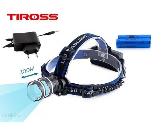 Žibintuvėlis tvirtinamas ant galvos fokusuojamas 10W IPX4 TIROSS TS-1146