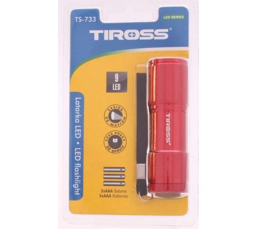 TIROSS TS-733 9LED kišeninis žibintuvėlis