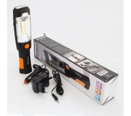 Tiross TS-1108 įkraunamas prožektorius / 3W LED / 3.7V 2000mAh
