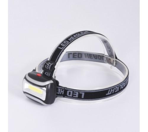 Tiross TS-1860 žibintuvėlis ant galvos / 2W COB LED / 100% -75% - mirksi / 3xAAA (neįtraukti)
