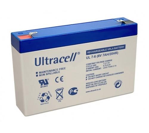 Akumuliatorius 6V 7Ah UL7-6 ULTRACELL