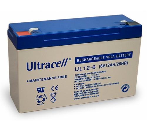 Akumuliatorius 6V 12Ah UL12-6 ULTRACELL