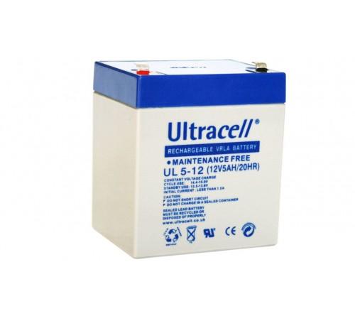 Akumuliatorius 12V 5Ah UL5-12 ULTRACELL