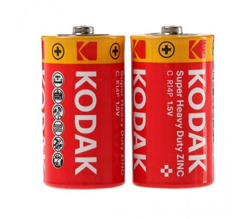KODAK Super Heavy Duty Zinc C / R14 / 1.5V / 2x baterijos