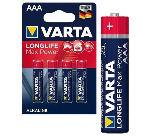 Varta Max Tech Alkaline šarminės baterijos R3 / AAA 4 vnt.