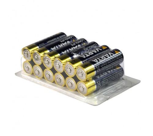 12 x baterijos AA / LR6 Varta Longlife