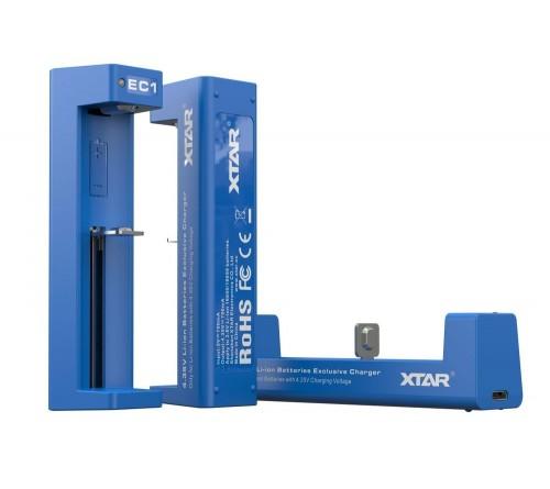 Greitas Xtar EC1Li-ion 16650/18650 įkroviklis