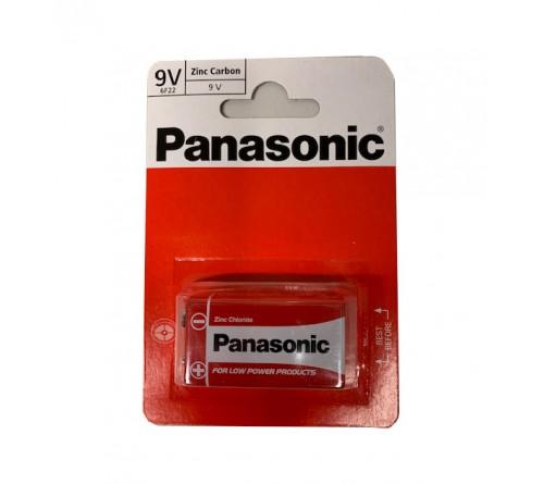 Panasonic 9V 6F22 Zinc Carbon baterija