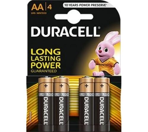 Duracell LR6/AA 4 vnt.