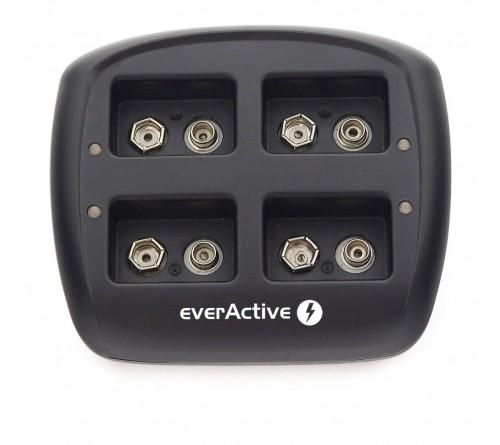 EverActive 9V Ni-MH 4 kanalų įkroviklis