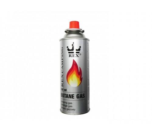 REX Butane GAS 400ml dujų butelis