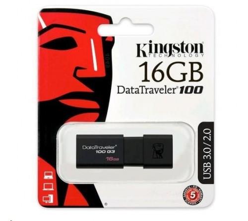 USB 3.1 Kingston DT100 G3 16GB 100 MB/s
