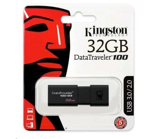 USB 3.1 Kingston DT100 G3 32GB 100 MB/s